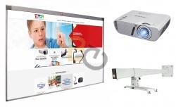 Zestaw interaktywny - tablica Avtek TT-BOARD 3000 + projektor ViewSonic PJD5353LS + uchwyt WallMount 1200