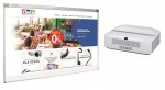 Zestaw interaktywny - tablica QOMO QWB100OPF + projektor Casio XJ-UT310 + uchwyt dedykowany