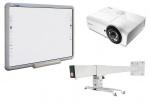 Zestaw interaktywny - tablica Qomo QWB200-BW 88' + projektor Vivitek DX881ST + uchwyt WallMount 1200