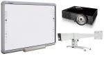 Zestaw interaktywny - tablica Qomo QWB200-BW + projektor ViewSonic PJD5453S + uchwyt WallMount 1200