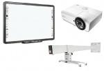 Zestaw interaktywny - tablica Qomo QWB200-PS 88' + projektor Vivitek DX881ST + uchwyt WallMount 1200
