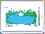 Zestaw interaktywny - tablica interaktywna Interwrite DualBoard 1279 + projektor Benq MX819ST + uchwyt