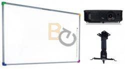 Zestaw interaktywny - tablica interaktywna Interwrite DualBoard 1279 + projektor Optoma DX318e + warianty PROMOCJA!