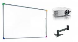 Zestaw interaktywny - tablica interaktywna Interwrite DualBoard 1279 + projektor Optoma X305ST + warianty PROMOCJA!