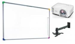 Zestaw interaktywny - tablica interaktywna Interwrite DualBoard 1289 + projektor Sony VPL-SW225 + warianty PROMOCJA!