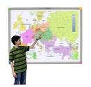 Zestaw interaktywny - tablica interaktywna Interwrite Touch Board PLUS 1078 (4:3) + projektor NEC UM301X + uchwyt