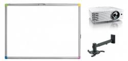 Zestaw interaktywny - tablica interaktywna Interwrite Touch Board PLUS 1088 + projektor Benq MW820ST + warianty PROMOCJA!