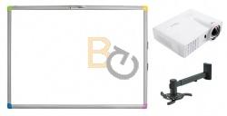 Zestaw interaktywny - tablica interaktywna Interwrite Touch Board PLUS 1088 + projektor Optoma W303ST + warianty PROMOCJA!