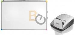 Zestaw interaktywny - tablica interaktywna Interwrite TouchBoard PLUS 1078 + projektor BenQ MX852UST + uchwyt ścienny BenQ