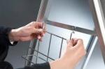 Stojak na plakaty 2x3 typu A rozmiar A2(594x420mm)
