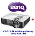 Projektor krótkoogniskowy BenQ MX819ST dobra cena