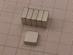 Magnes neodymowy do tablic szklanych Naga i Nobo 10x10x4 mm