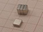 Magnes neodymowy do tablic szklanych Naga i Nobo 7x7x3 mm