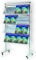 Stojak na ulotki i broszury 2x3 dwustronny 16xA4