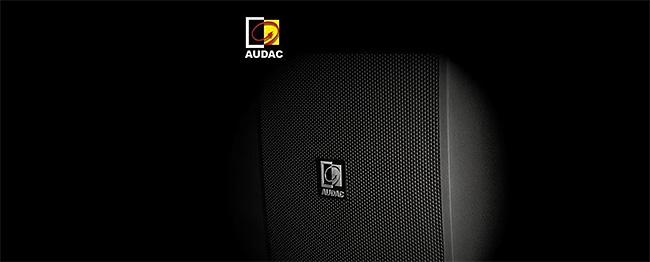 Audac - Wzmacniacze i Głośniki Instalacyjne