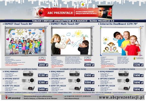Tablice i Zestawy Interaktywne ABC Prezentacji
